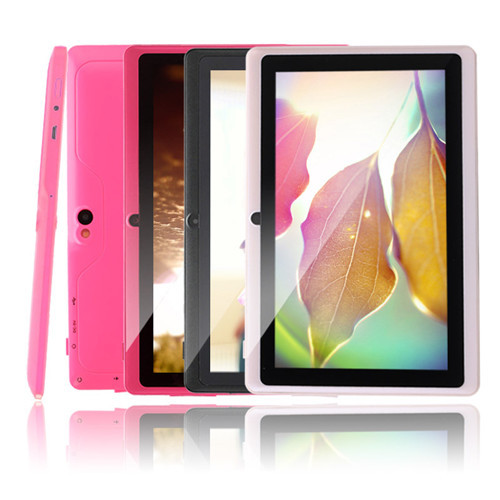 """IRULU Android Tablet 7"""" 8GB Android 4.4 Quad Core Tablet PC 1024*600 HD Computer Dual Cam Cheap Internet Tablet w/ TF Card New(China (Mainland))"""