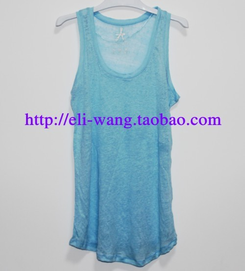 Primark british style linen t-shirt basic shirt spaghetti strap vest small vest fashion spaghetti strap vest plus size