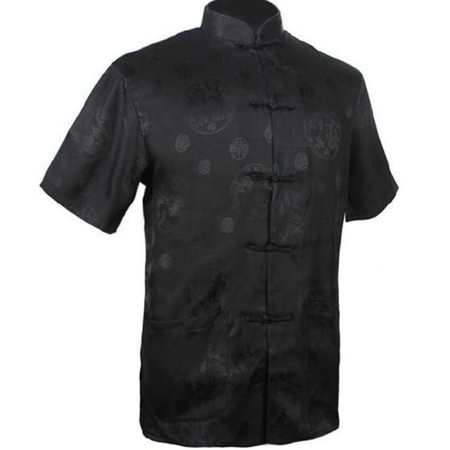 Бесплатная доставка традиция шелковый атлас рубашка с карманного размера L XL XXL ...