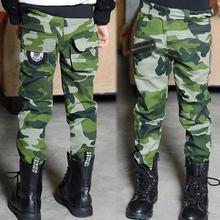 Camouflage Pants Toddler Kids Boys Girls Unisex Casual Pants Stylish Camo Trousers (China (Mainland))