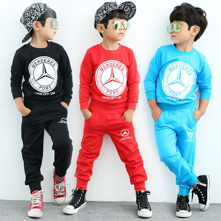 2015 kids sports suit baby boys clothing sets children s
