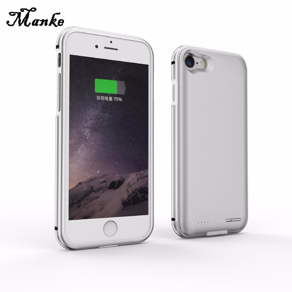 4.7 Inch Back clip battery Charger Case Portable source for iphone7 Portable battery for iphone7 Cell phone case battery 2800mAh