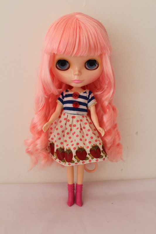 Free Shipping Top discount DIY Nude Blyth Doll item NO. 01 Doll limited gift special price cheap offer toy(China (Mainland))