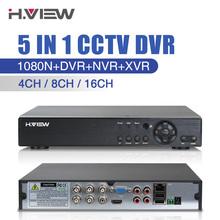 Buy Hot 5 IN 1 AHD CVI TVI 4Ch 8Ch 16Ch NVR 1080N Security CCTV DVR NVR XVR Hybrid Video Digital Recorder 1080P Onvif Max 4TB View for $61.99 in AliExpress store
