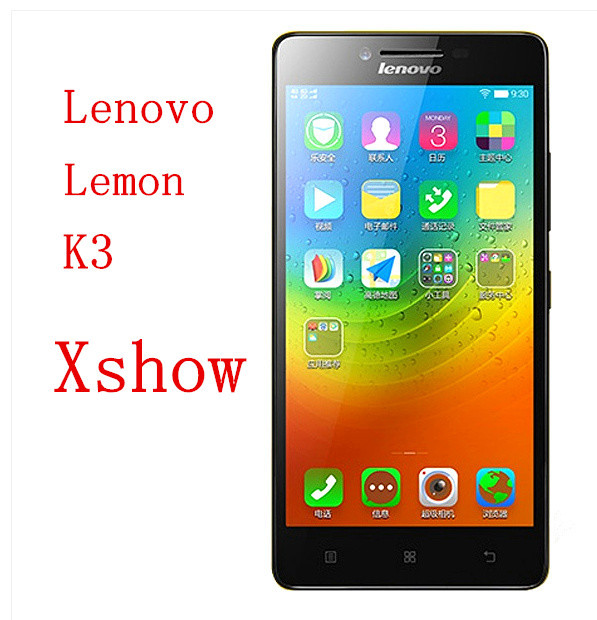 Original 5inch Lenovo Lemon K3 Cell phones Android 4.4 Snapdragon 410 MSM8916 64bit Quad Core 1.2Ghz 16G ROM 5.0'' IPS 8.0Mp(China (Mainland))