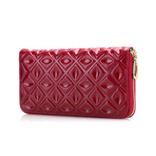 New Arrival fashion women wallet rear genuine leather wallet cow leather purse female brand cluth lady coin money clips 102#(China (Mainland))