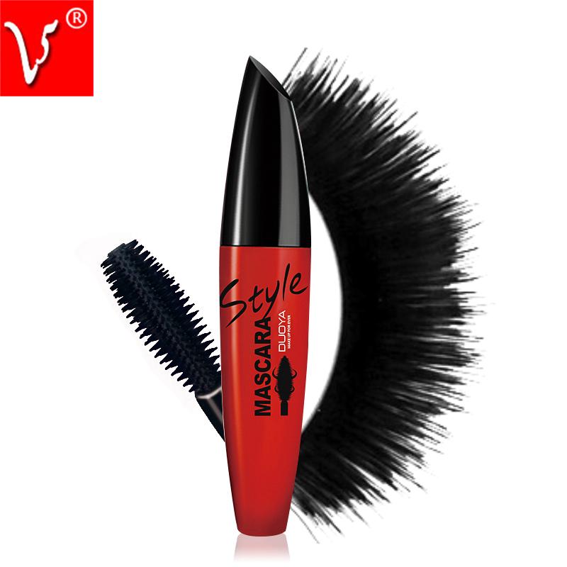 DUOYA Brand font b Makeup b font Younique 3d Fiber Lashes Mascara To Eyelashes Waterproof Curling