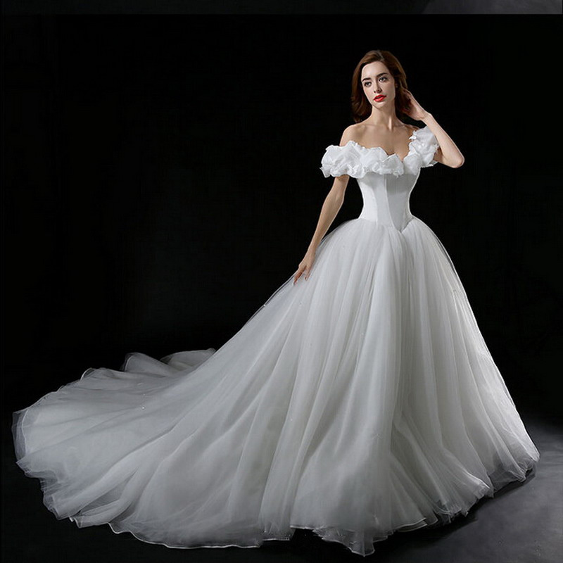 Buy real photos new movie cinderella for Cinderella inspired wedding dress
