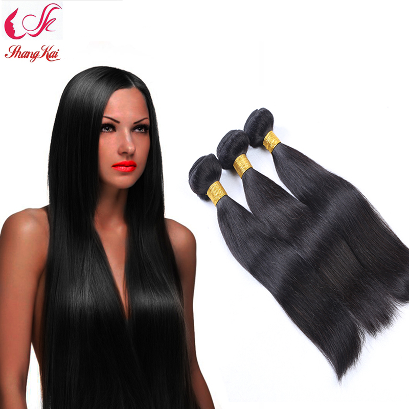 Unprocessed Peruvian Virgin Hair 100% Human Hair 3pcs Peruvian Straight Hair Extensions Grade 7A Peruvian Virgin Hair Straight