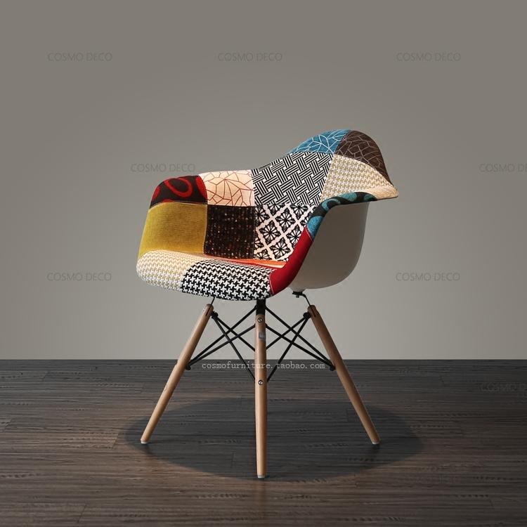 The Nordic minimalist modern fashion promotion Home Furnishing wood Kartoll fabric cloth leisure sofa chair Kartoll Office(China (Mainland))