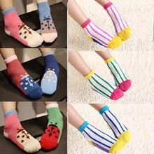 New 2015 Kids Socks For Spring Autumn Cute Cotton Baby Socks Meias Infantil 10pairs/Lot ZZ3104(Hong Kong)