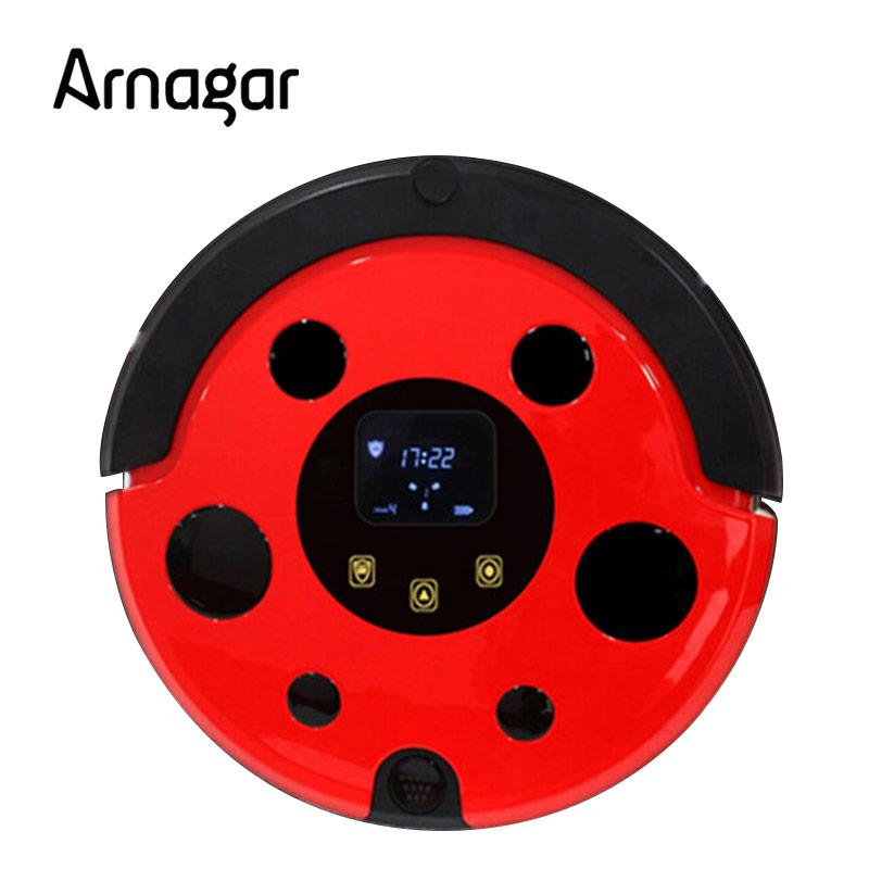 Arnagar Q1 Vacuum Cleaner Smart Sweeping Mop 180ml Water Tank Rechargeable ROBOT ASPIRATOR Intelligent Isolation House Cleaner(China (Mainland))