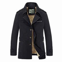 2015 Brand men jacket coat fashion windrunner windbreakers windproof Black winter jacket men coats plus size
