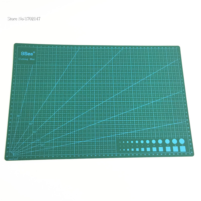 Free Shipping 1 Set Pvc Material Patchwork Tools Cutting Mat A3 / Manual Diy Tool / Cutting Board / Carving Board(China (Mainland))