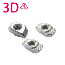 Free Shipping For 2020 Aluminum Extrusion Frame use Mini Kossel Delta Robot Nuts Bolts Screw Fasteners
