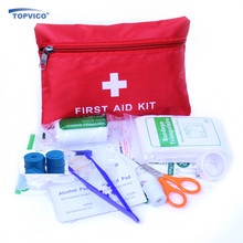 12 Kinds/pack Emergency Kits First Aid Kit Survival Camping Travel Medical Emergency Treatment Pack Set Nylon Pouch Bag #3(China (Mainland))