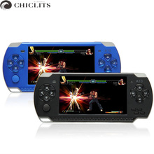 Console Game 4.3 Video Game Handheld Game Console Real 8GB Portable MP5 Game Player Classic Tetris Camera Recorder FM Radio(China (Mainland))