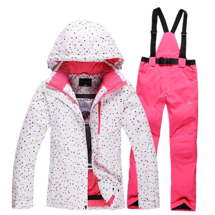 Cheap Women Ski Suit Sets Outdoor Sports Winter Snowboard Clothing 10K Waterproof Thicken Warm Costume LadySnow Suit Jacket+Pant<br><br>Aliexpress