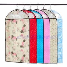 1pc NEW Clothes Coat Dress Garment Dress Suit Dustproof Storage Cover Protector Bags (China (Mainland))