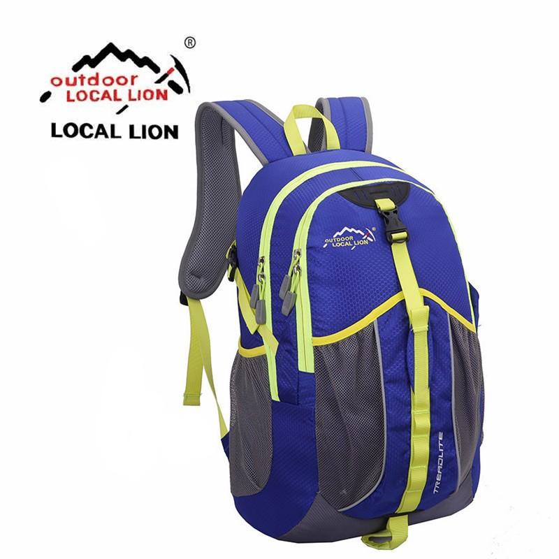 Фотография LocalLion Fashion 35L Professional Outdoors Backpacks Sports Climbing Camping Waterproof Hiking Bag Unisex Shoulder Backpacks