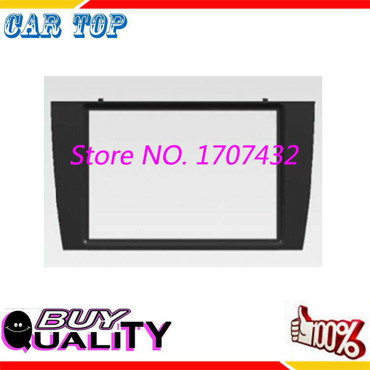 2DIN DVD Car Radio Fascia JAGUAR X type S 2003-2008 face plate frame panel dash mount kit adapter trim Bezel fascia