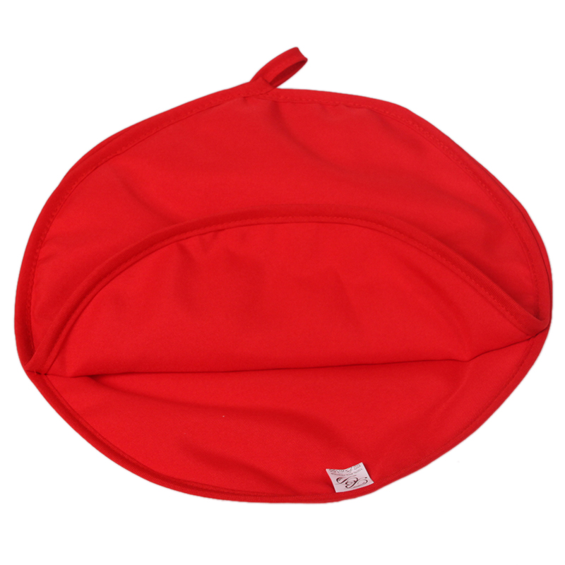 2015 Cute Eco-Friendly Round Red Cooker Bag Washable Baked Cooking Roast Potato Microwave Kitchen Accessories Gadget GI875528(China (Mainland))