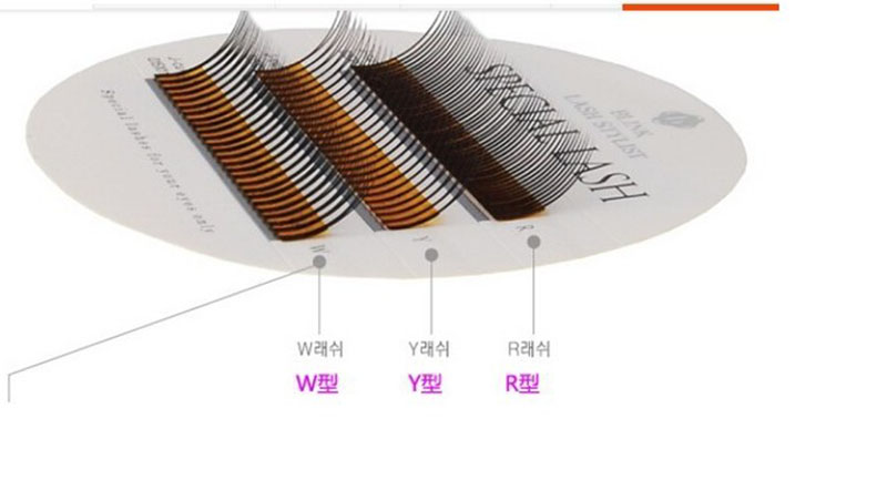 Latest product quality the blink of an eye eyelash R, Y, W cluster lashes, mixed R, Y, W eyelash, curl, C 0.15 * 11 mm,<br><br>Aliexpress