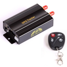 Real time GPS GSM GPRS Car Vehicle Tracker System Device Google maps Free Web Platform Services TK103B SD Card Slot Remote(China (Mainland))