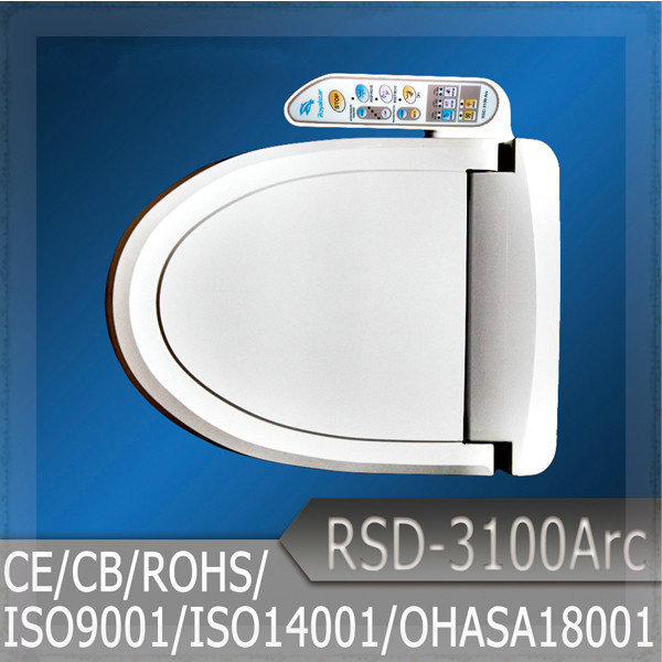 Intelligent toilet seat bathroom electronic toilet seat - Intelligent shower ...