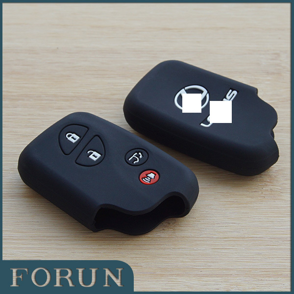 Silicone Car key cover Lexus intelligence ES240 ES350 RX270 RX350 protective case shell 4 buttons car accessories - Forun Electronic Technology Co. ,Ltd. store