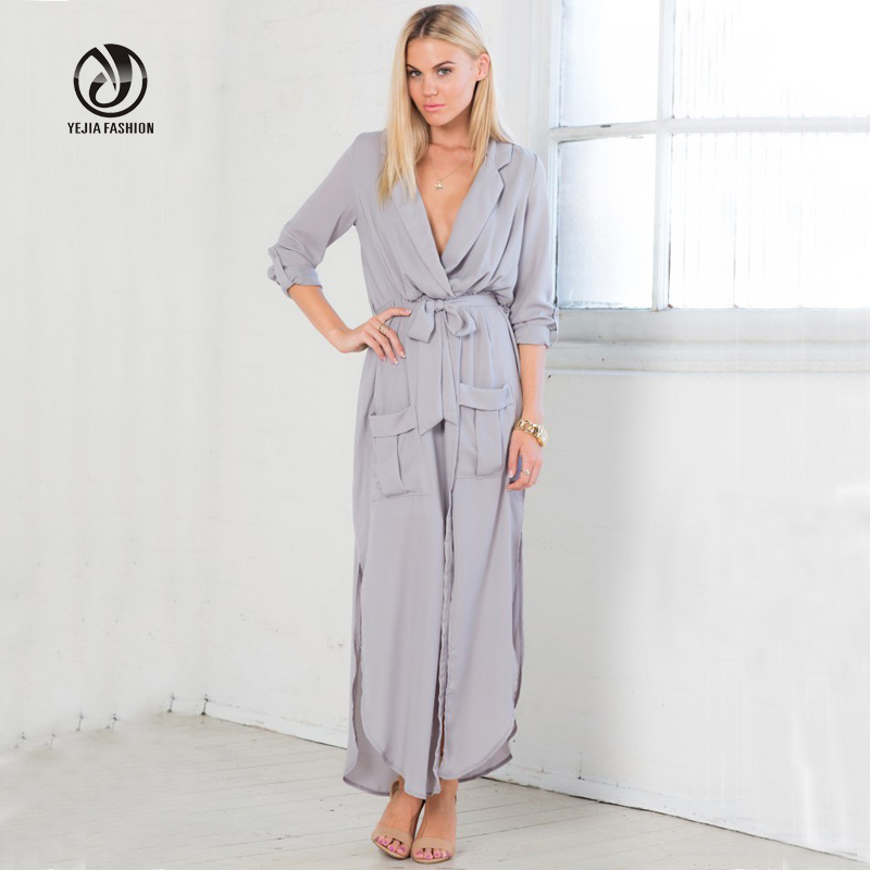 2016 Hot Summer Maxi Dress Long Sleeve Tunic Chiffon Women font b Maternity b font Dresses