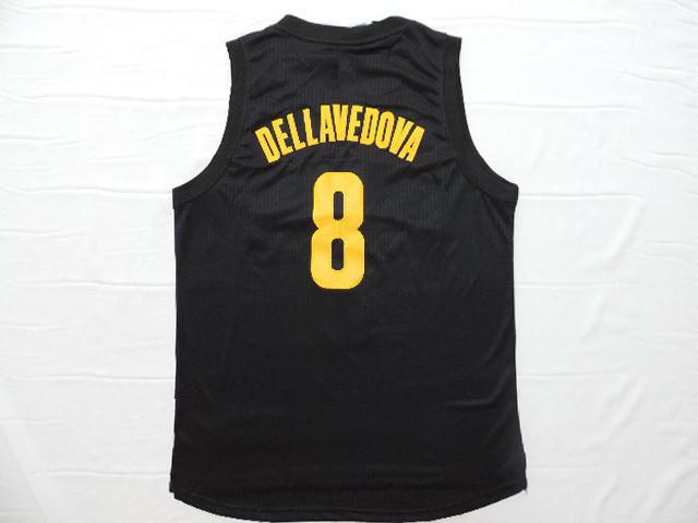 Stitched logo #8 Matthew Dellavedova Jersey Black Sleeveless Rev 30 Shirts 2015 New Design Basketball Jersey ,Drop Shipping(China (Mainland))