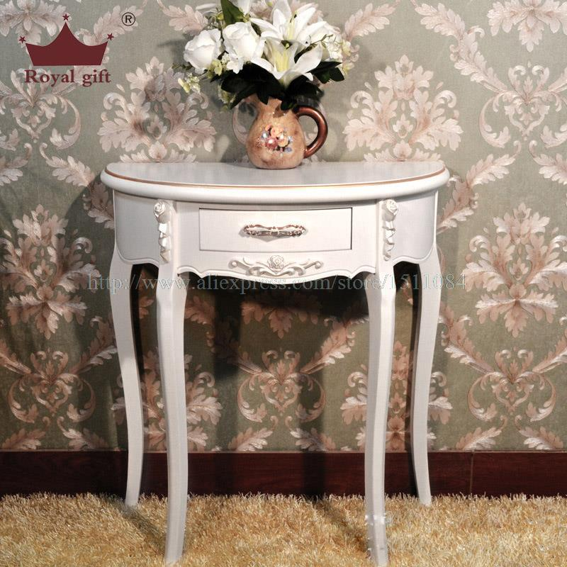 Cheap european style entrance station half round table side table console table factory outlets - Cheap entrance table ...