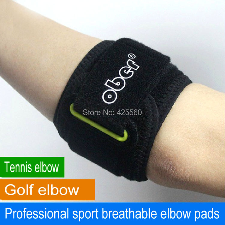 1 PC Tennis Golfer Elbow Brace Strap Wrap Bracelet Pain Lateral Epicondylitis Relief RSI Repetitive Strain Injury Support Sport(China (Mainland))