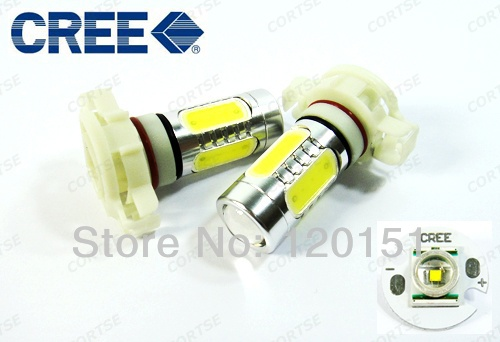 NEW 5202 H16 CREE LED Plasma Projector Fog Lamp Daytime Running Light DRL WHITE 11W(China (Mainland))