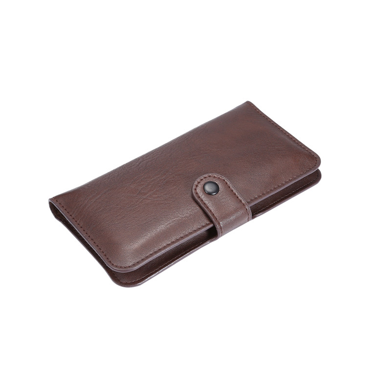 Luxury 4 Colors Buttons Model Pouch Case for Bluboo Maya Wallet Style Leather Cover Card Holder Cases(China (Mainland))