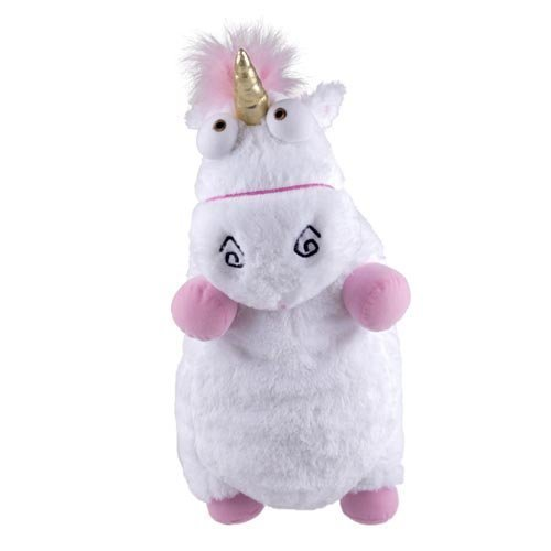 Despicable Me Fluffy Unicorn Plush Pillow Toy Doll big 16 inch Fluffy figure gift(China (Mainland))