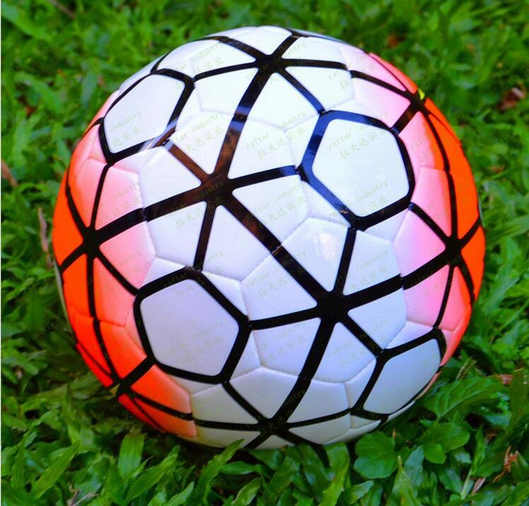 2015/16 England League Size 4 Machine-sewn PU Soccer Ball Top Quality 10th England League Size 4 Football With Gas needle!!(China (Mainland))