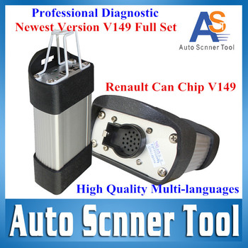 Attractive Price Renault V149 Newest Version Renault CAN CLIP Professional Multi-Language(14Kinds) Renault Interface CNP Free