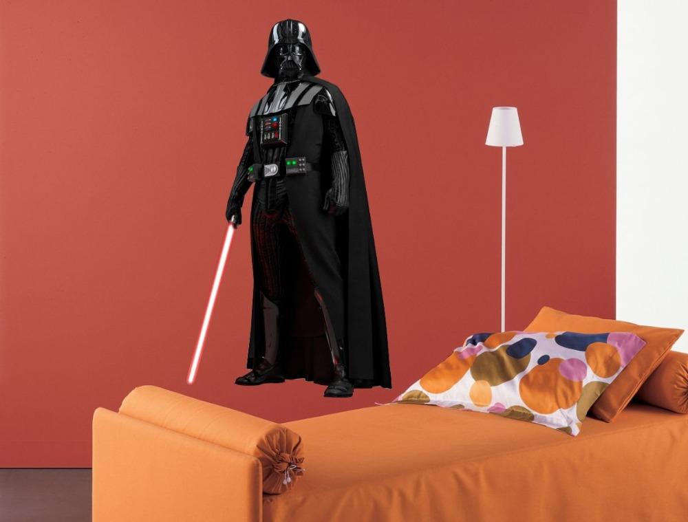 WALL STICKERS DARTH VADER Star Wars Vinyl Decal Mural Sticker