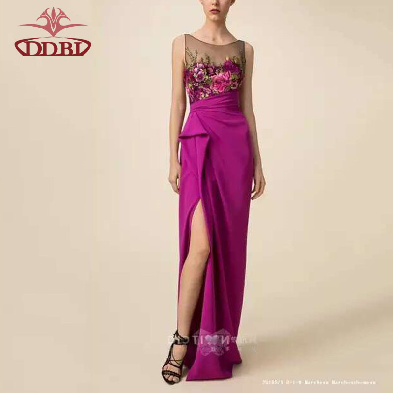 rose red embroidery bodycon 2016 formal ocassion wear summer dress sexy fashion embroidered dresses elegant women wear longa412(China (Mainland))