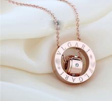 Free Shipping Fashion Maxi Necklace Pendants Long Crystal Multi Layer Choker Necklace Gold Statement Necklace Fine Jewelry Women(China (Mainland))