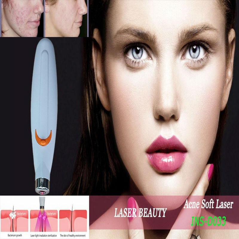 Free Shipping! Acne Fashion Mezoroller Face Skin Laser Acne Remover(China (Mainland))