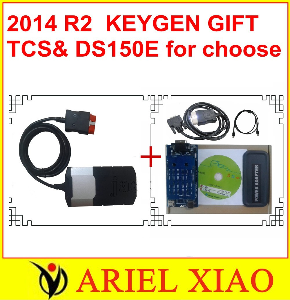 Testing seriously before shipping 2014 R2 as GIFT ON CD TCS scanner cdp pro plus+with LED and flight function(China (Mainland))