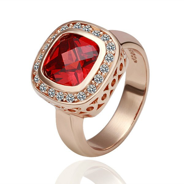 18kgp r057 freeshipping 18k gold plated rings fashion jewelry nickel free plating