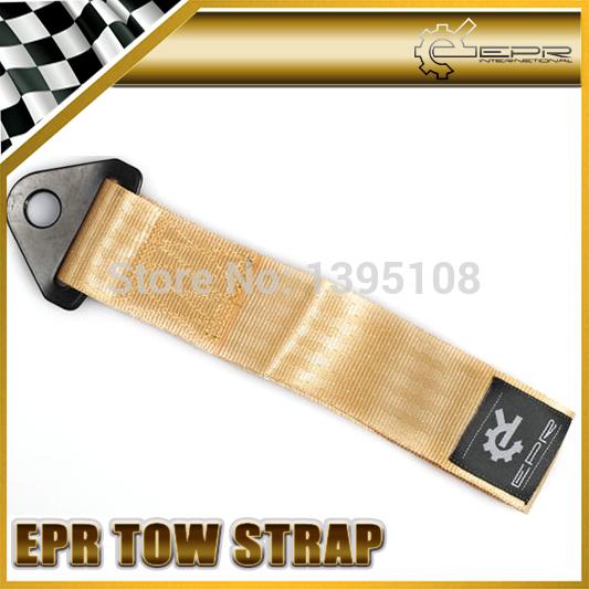Новый эпр золото эвакуатор глаз ремень буксировочный ремешок гонки дрифт ралли аварийного инструмента 21.5 см E36 E60 X6