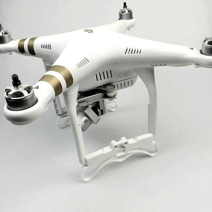DJI Phantom 3 tripod machine accessories landing gear legs extended elongate support