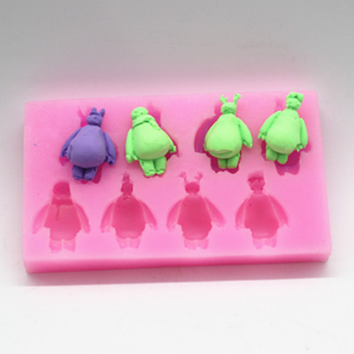 P103 10 even white silicone mold chocolate mold fondant ...