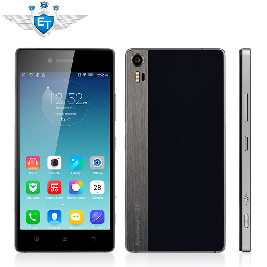 "Original Lenovo Vibe Shot Z90 Z90-7 4G Cell Phone Android 5.0 Snapdragon 615 Octa Core 3GB 32GB 5"" 1920x1080 16.0MP Camera OTG(China (Mainland))"