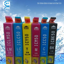 Compatible ICBK50 ICC50 ICM50 ICY50 ICCL50 ICCM50  IC6CL50 ink cartridge